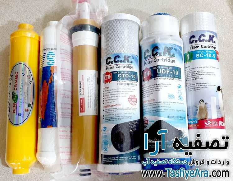 تعویض فیلتر تصفیه آب در تهران