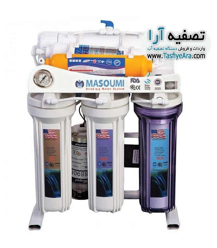 تعویض فیلتر تصفیه آب معصومی