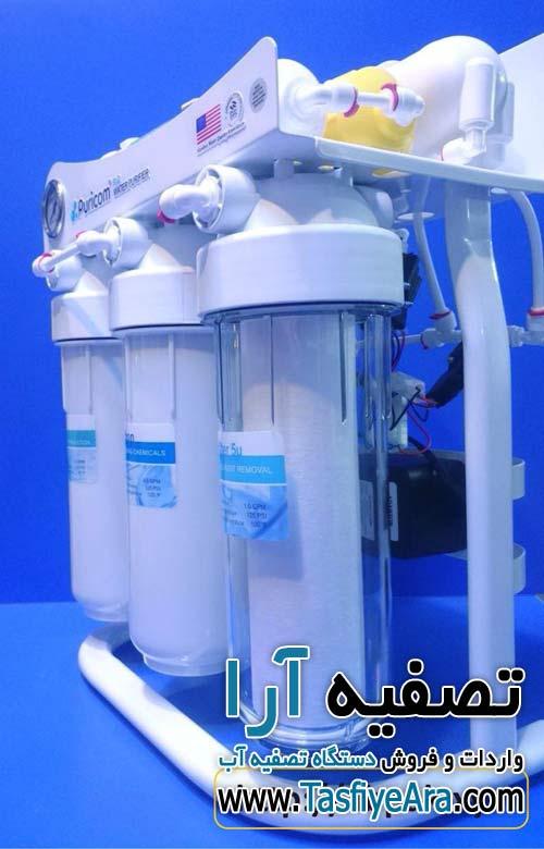 قیمت فیلتر دستگاه تصفیه آب خانگی پیوریکام puricom