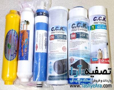 قیمت فیلتر دستگاه تصفیه آب خانگی